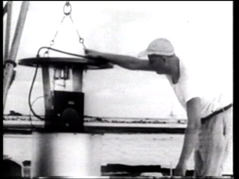 the united states conducts first hbomb test at enewetak atoll in the midpacific ocean - newsreel stock videos & royalty-free footage