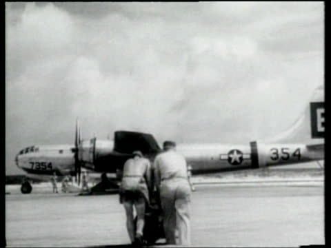 the united states navy prepares to test the effects of radiation following the use of an atomic bomb. - atomic bomb stock videos & royalty-free footage