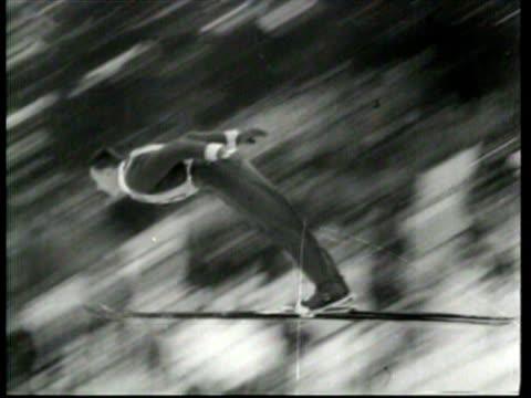 Top European ski jumpers compete in Germany
