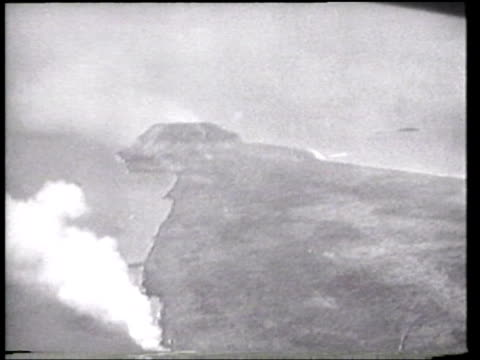 us marines assault mount suribachi on iwo jima - battle of iwo jima stock videos and b-roll footage
