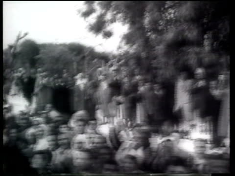 us president dwight eisenhower visits tunisia - 1959 stock-videos und b-roll-filmmaterial