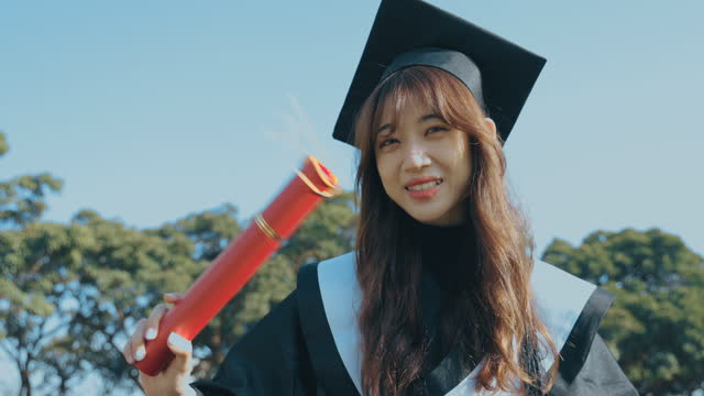 university graduates - cap stock videos & royalty-free footage