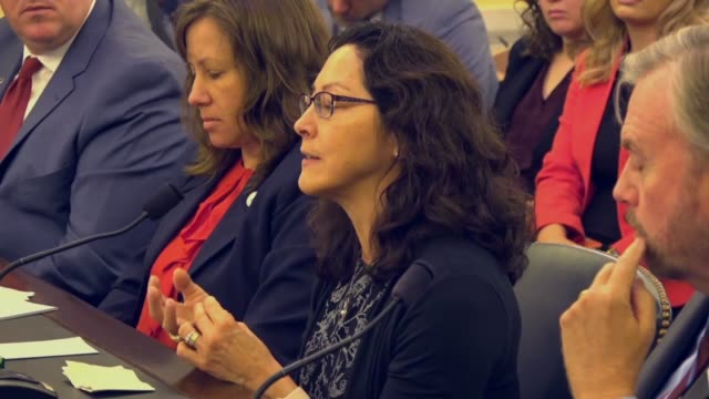 university of alaska anchorage biological sciences expert cheryl wilga tells a senate panel that shark cartilage was a promising material for... - cartilage stock videos & royalty-free footage