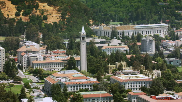 AERIAL University of California, Berkeley and the Sather Tower
