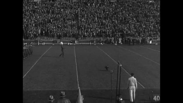 1929 university of michigan football game / frat boys - 1929 stock videos and b-roll footage