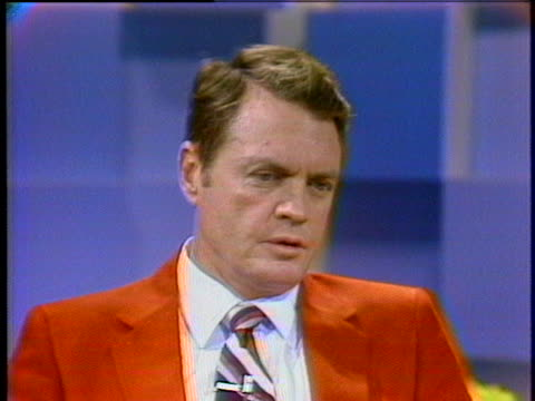 university of nebraska head football coach tom osborne says that his team will play the very best they can in the orange bowl. - sport stock videos & royalty-free footage