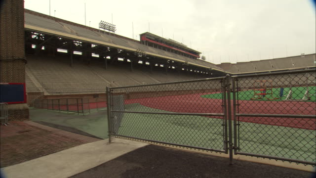 atmosphere university of pennsylvania campus - ncaa college football stock videos and b-roll footage