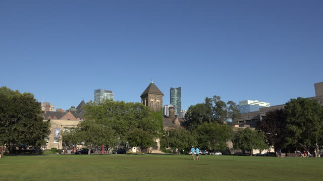 university of toronto or u of t grounds and heritage buildings - canada - toronto stock videos & royalty-free footage