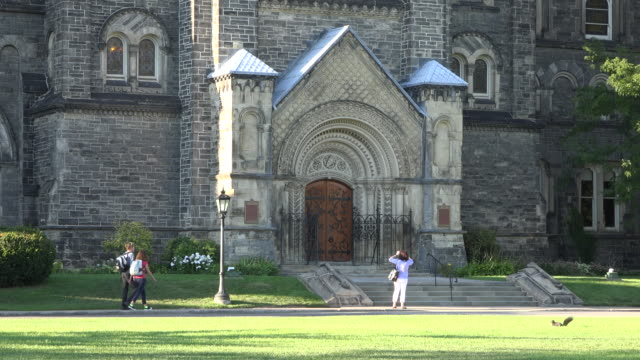 University of Toronto or U of T grounds and heritage buildings - Canada