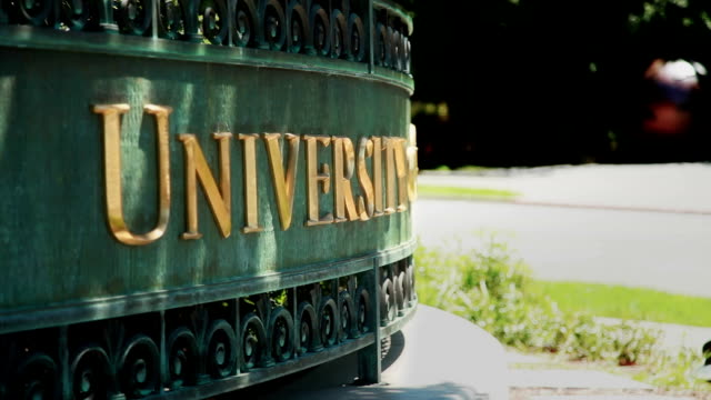 university sign zoom - university stock videos & royalty-free footage