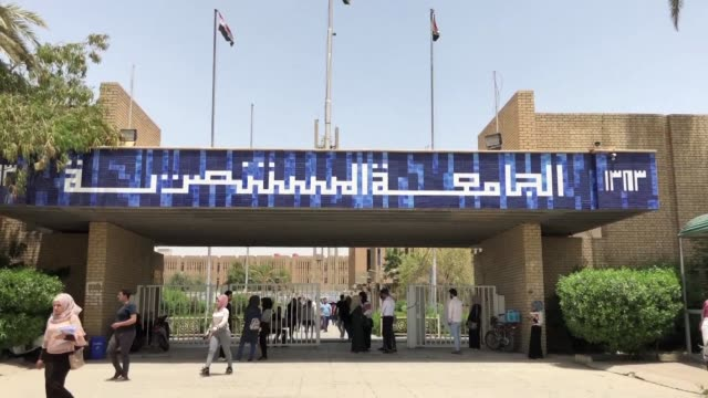 university students across iraq are going through this year's final exams - baghdad stock videos & royalty-free footage