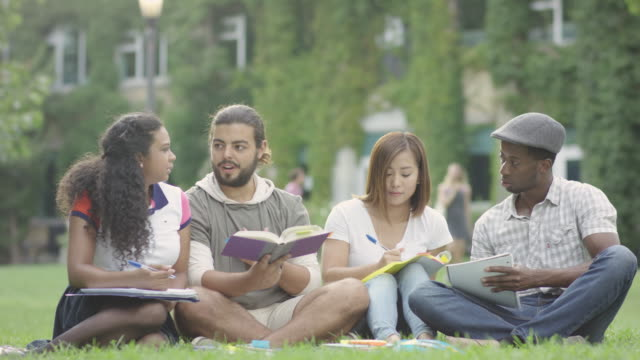 university study group - fatcamera stock videos and b-roll footage