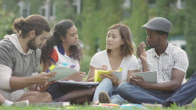 university study group - university student stock videos & royalty-free footage