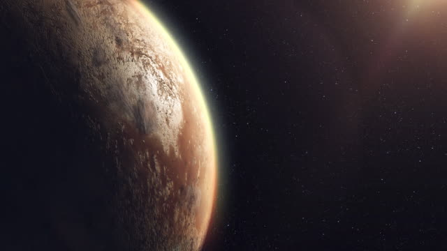 unknown planet beyond our solar system - alieno video stock e b–roll