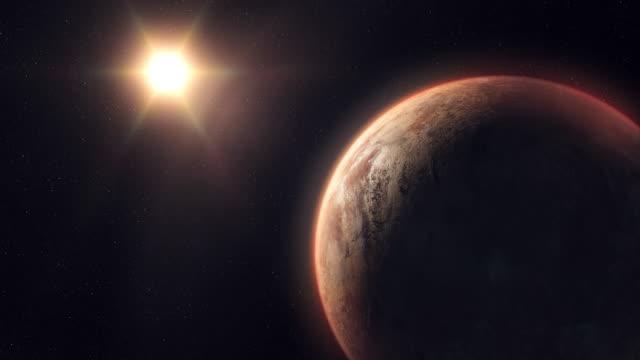 stockvideo's en b-roll-footage met onbekende planeet buiten ons zonnestelsel - mystery