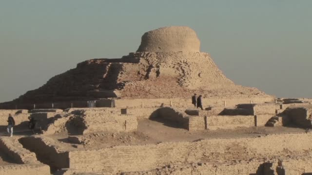 Unknown to the world the ancient and mighty city of Mohenjo Daro in Pakistan is getting attention from a team of international archaeologists...