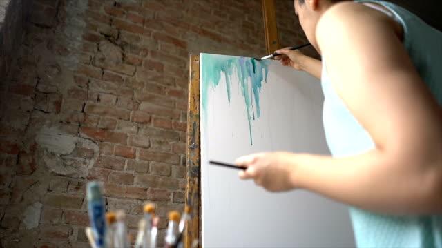 stockvideo's en b-roll-footage met creativiteit ontketenen - canvas