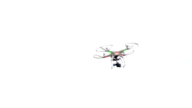 unmanned aerial vehicle with camera - quadcopter stock videos & royalty-free footage