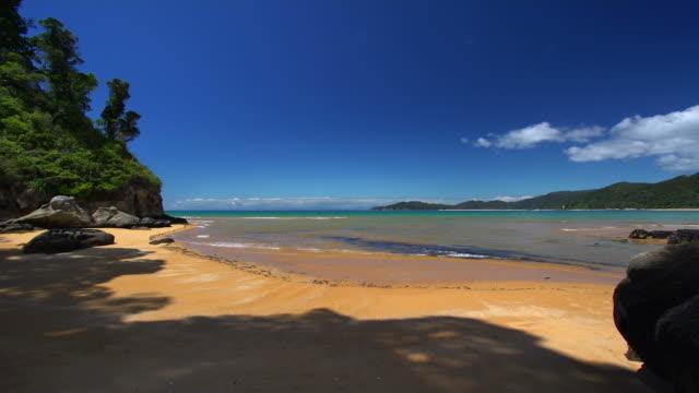 自然のままのビーチ