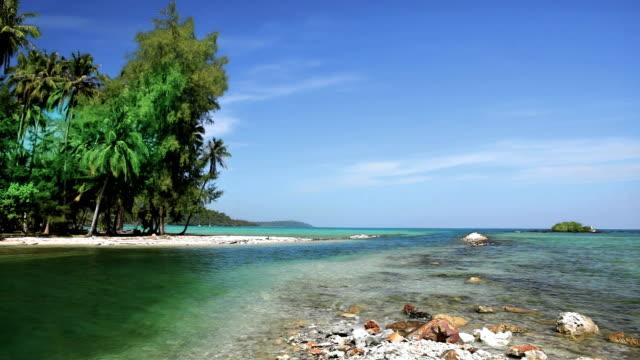 Untouched beach
