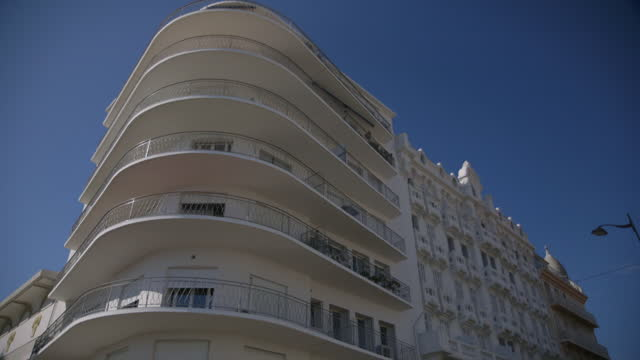 unusual building, french riviera - var stock videos & royalty-free footage