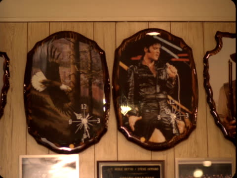 ms, unusual wall clocks hanging on wall, reno, nevada, usa - offbeat stock videos and b-roll footage
