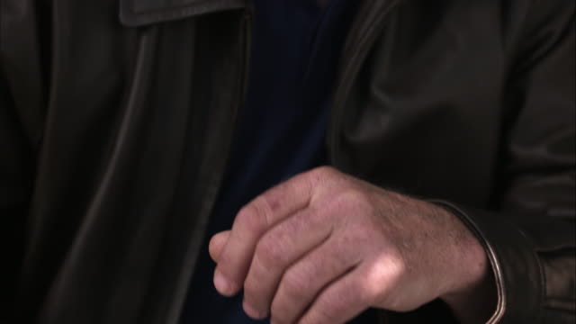 up close view of man rubbing hands together. - rubbing hands together stock videos and b-roll footage