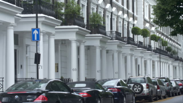 up market london property - kensington und chelsea stock-videos und b-roll-filmmaterial