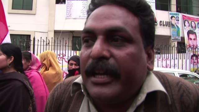 up to 100 christians rallied in the central city of multan wednesday condemning the killing of catholic pakistani minorities minister shahbaz bhatti... - multan stock videos and b-roll footage