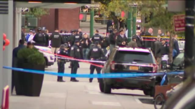 up to eight people were killed and 15 others were injured in lower manhattan after a truck hit people on a bike path. the driver of the truck, who... - terrorism stock videos & royalty-free footage