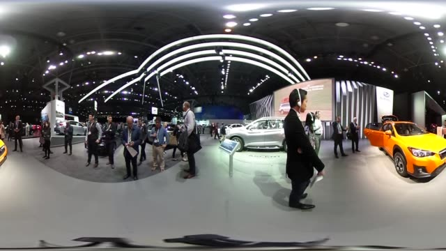 *Upload to supported player to view in 3D mode* A Toyota Motor Corp FT4X concept vehicle sits on display during the 2017 New York International Auto...