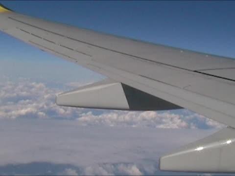 空には - 搭乗者点の映像素材/bロール