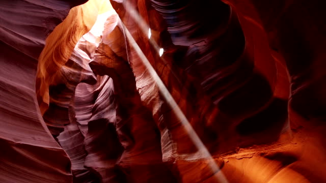 upper antelope canyon panorama tilt - page arizona stock videos and b-roll footage