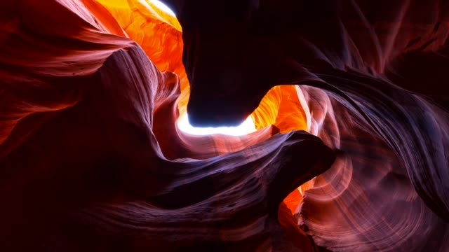 upper antelope canyon - page arizona stock videos and b-roll footage