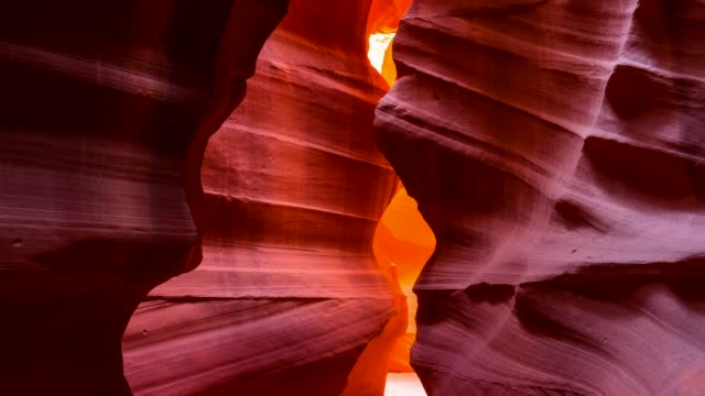 Upper canyon in Antelope Canyon