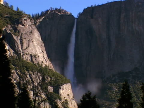 upper falls, yosemite nat pk - upper yosemite falls stock videos & royalty-free footage