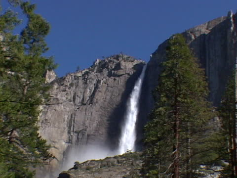 upper falls, yosemite national pk - upper yosemite falls stock videos & royalty-free footage
