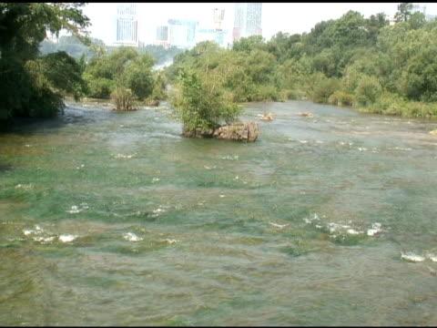 upper rapids 5 - ntsc - niagara river stock videos & royalty-free footage