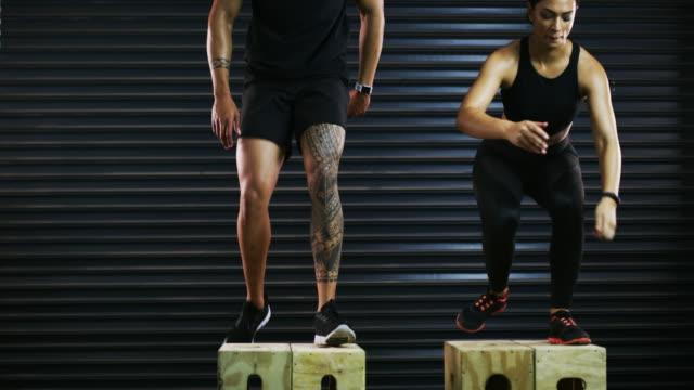 vídeos y material grabado en eventos de stock de upping su juego de fitness - autodisciplina
