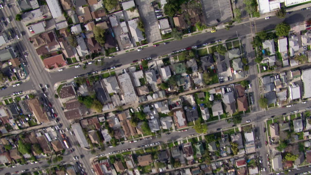 upside down aerial shot of residential los angeles. - upside down stock videos and b-roll footage