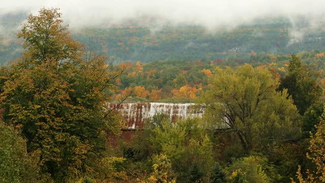 アップステート ニューヨーク 秋の風景 - ニューパルツ点の映像素材/bロール