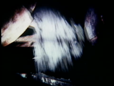 1973 montage uranium mining, usa, audio - raw footage stock videos & royalty-free footage