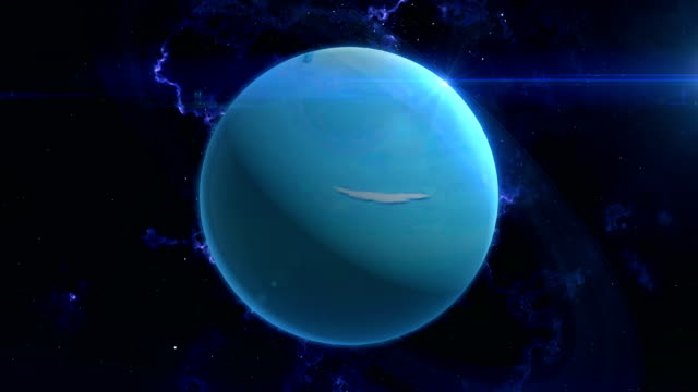 Uranus Reveal in Space
