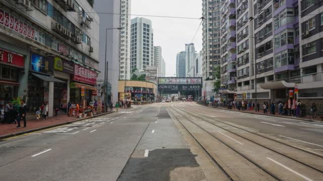 vídeos de stock, filmes e b-roll de cidade urbana vida hong kong - pedestre