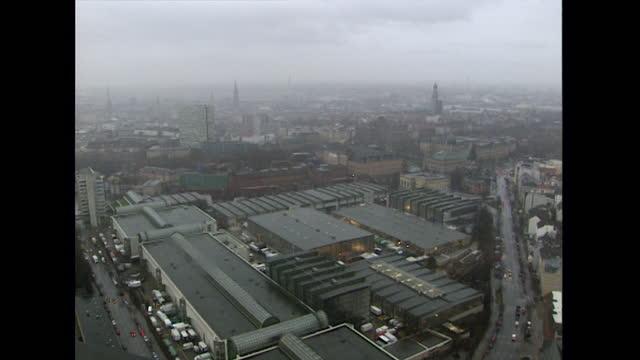 ws urban cityscape in hamburg; 1998 - 1998 stock videos & royalty-free footage
