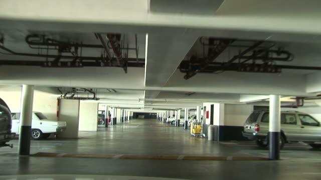 (HD1080i) Urban Congestion: Parking Car in Building