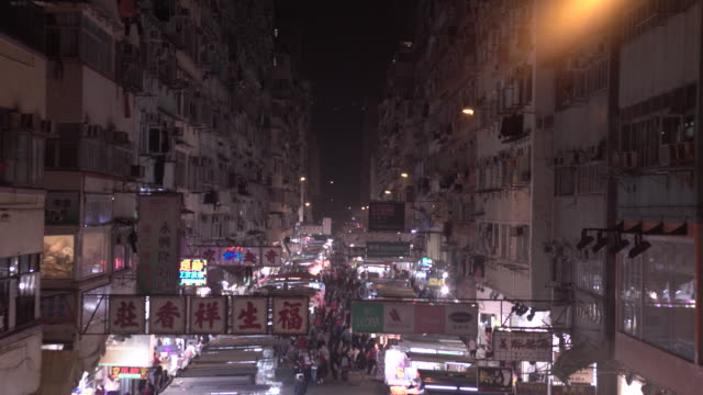 urban density in hong kong - 20 seconds or greater stock videos & royalty-free footage