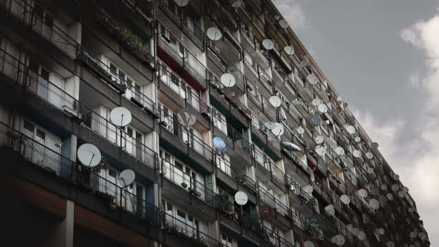 urban housing - balkon stock videos & royalty-free footage
