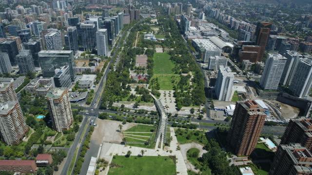 Urban Parks In Las Condes Santiago