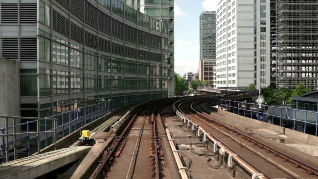 urban railroad - rail transportation stock videos & royalty-free footage